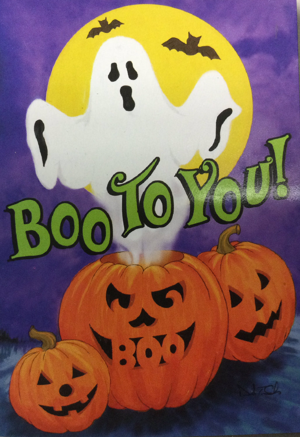 Boo To You House Flag