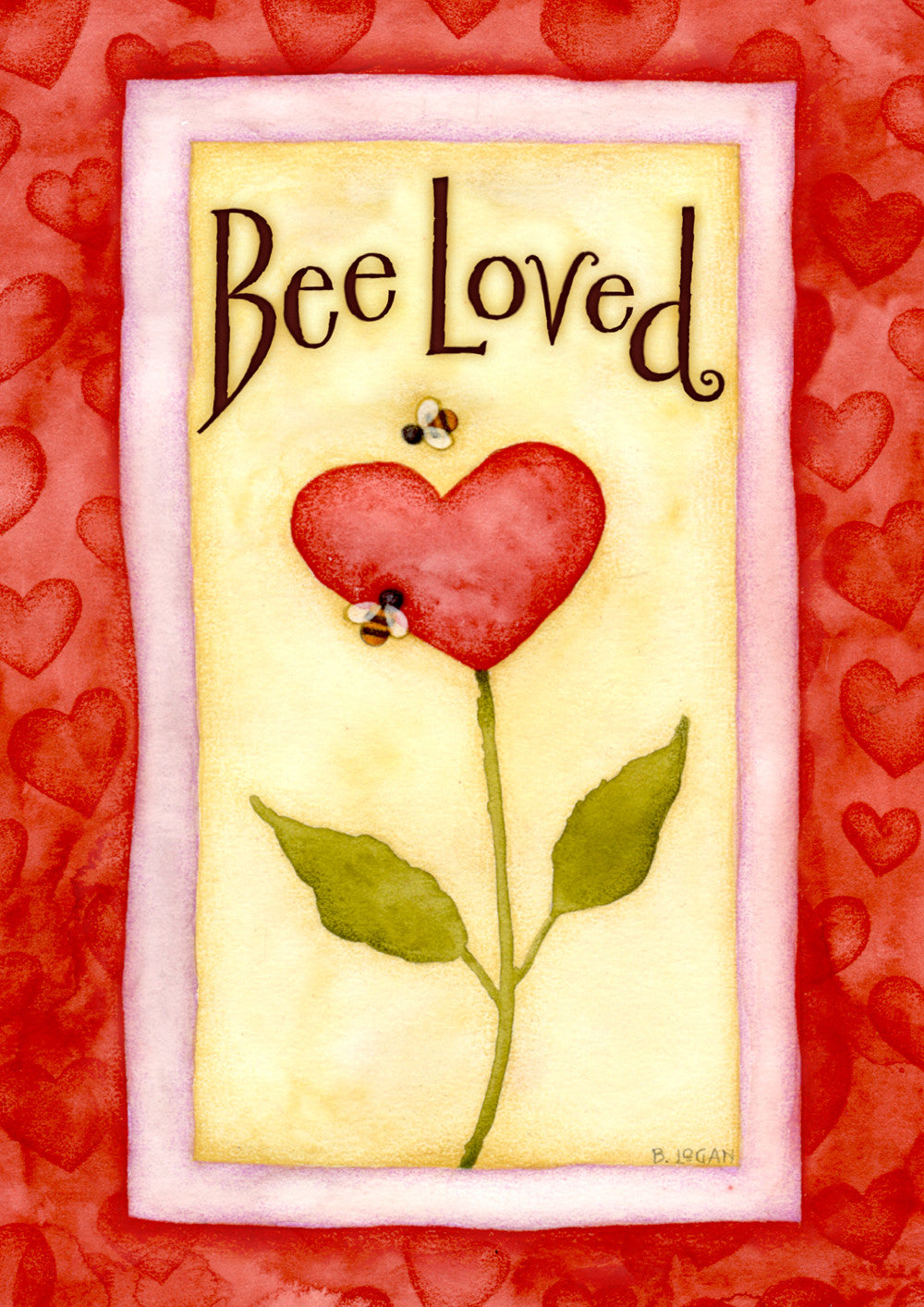 Bee Loved Garden Flag