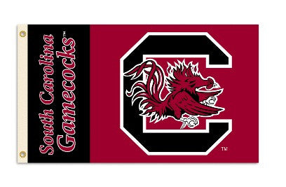 University of South Carolina Gamecocks Flag with eyelets
