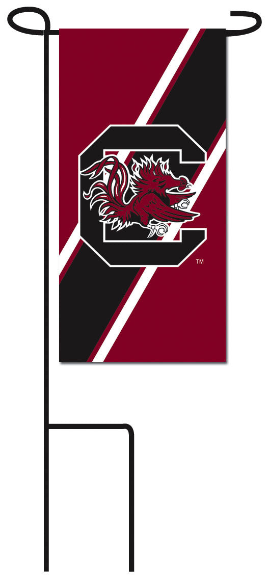 University of South Carolina Flower Pot Flag and Stand