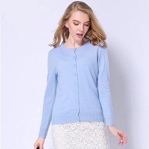 Women Fashion Cashmere Sweater Cardigan (S-2XL), Sweaters - Yadys.com