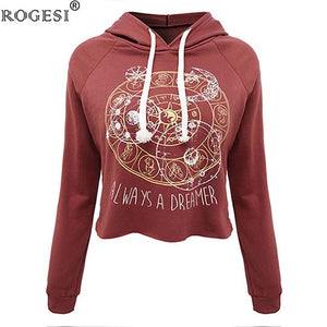 Casual Women Hooded Long Sleeve Shirt