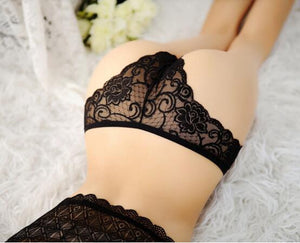 Sexy Lace Breathable Seamless Panty Briefs