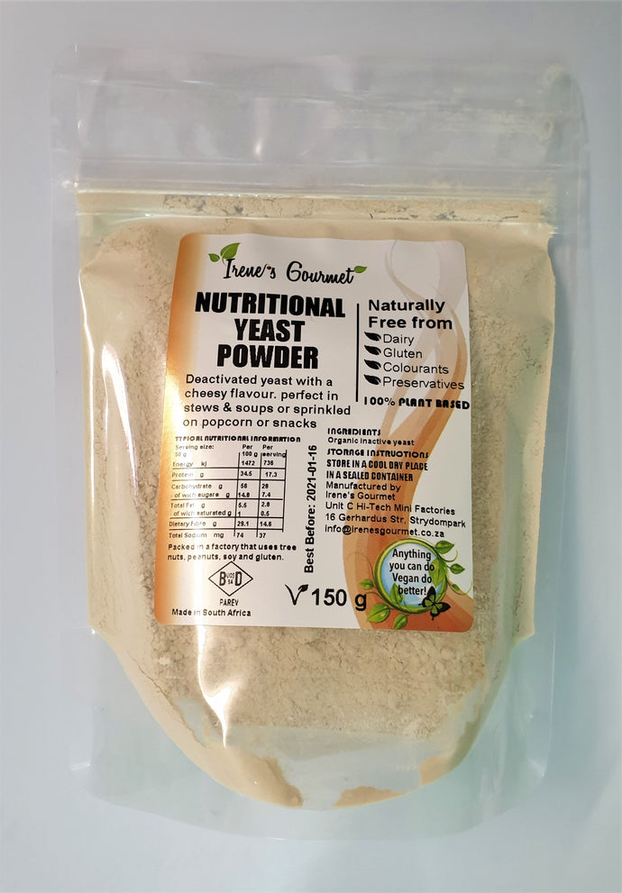 Organic Nutritional Yeast Powder (150g)