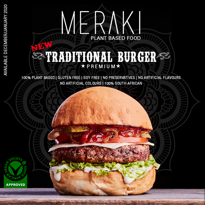 Traditional Premium Gluten Free Burger (4 Patties) (400g)