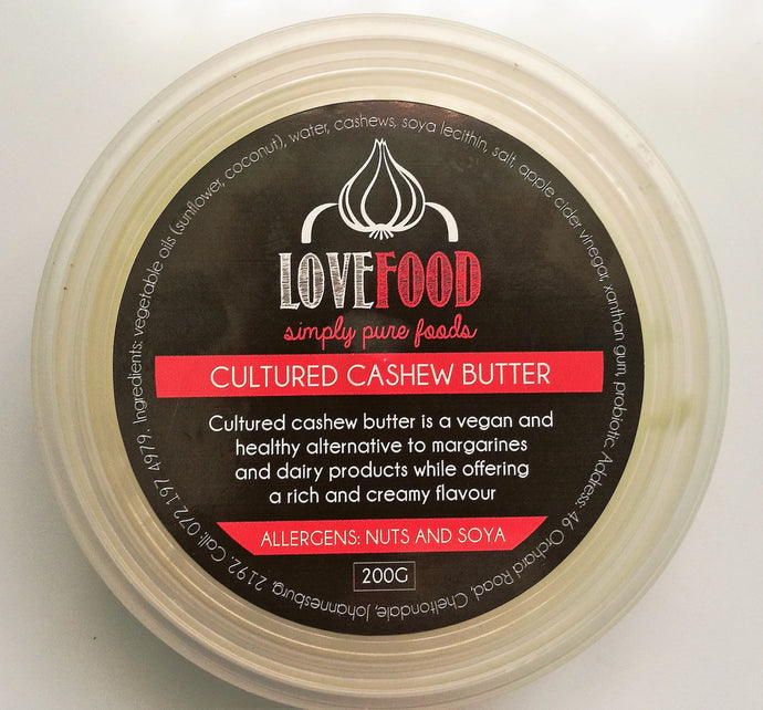Cultured Cashew Butter (200g)