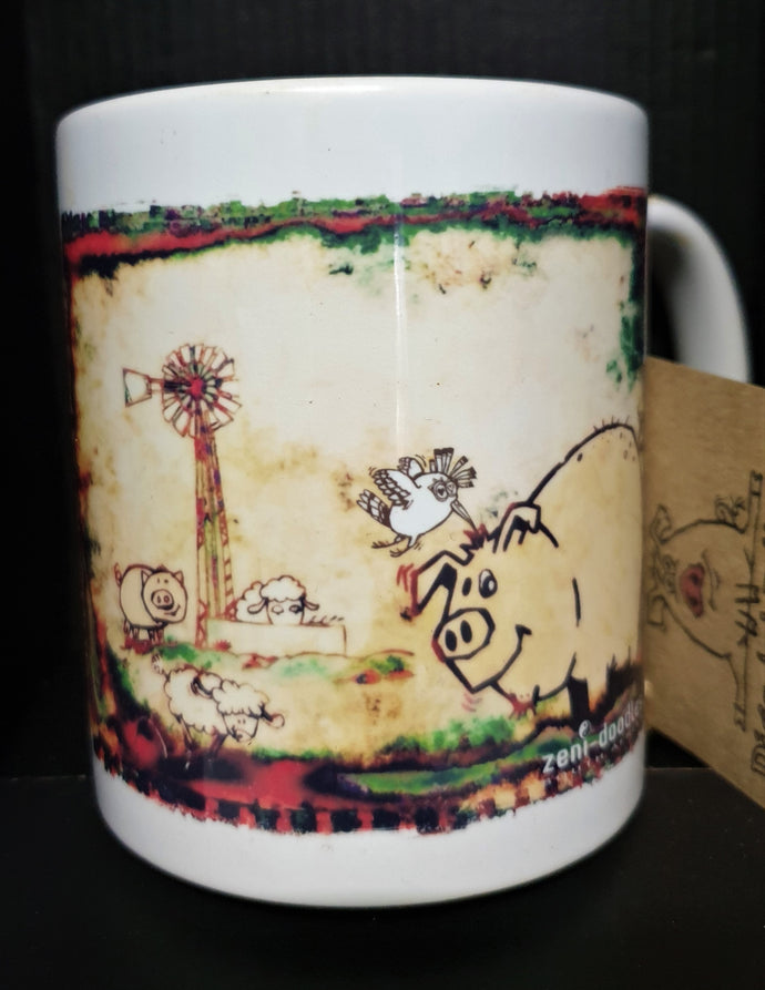 Yellow Farm Theme Mug