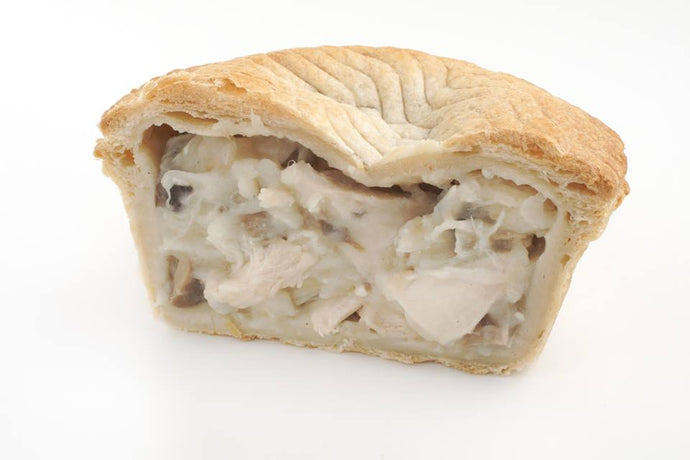 Vegan Chicken and Mushroom Pie (375g)