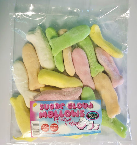 Vegan Mallows Fish Shaped