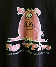 Pig doing the splits - long sleeved (Large)