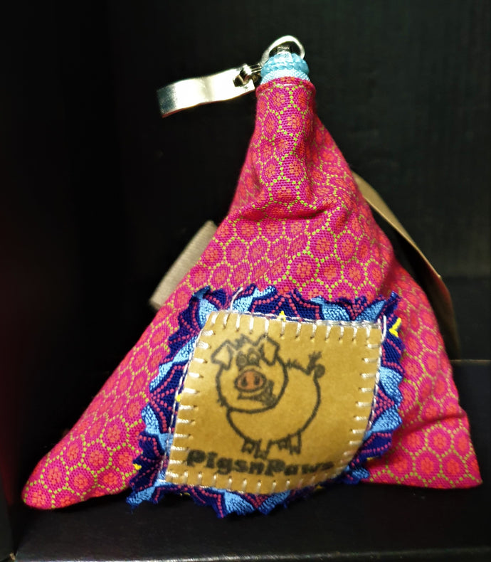 Pink Triangle Coin Purse