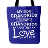 GREAT-GRANDPARENTS TOTE BAGS