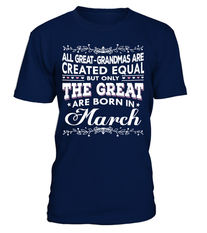 THE GREAT ARE BORN IN MARCH