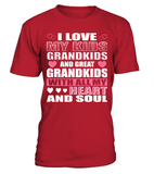 I LOVE MY KID GRANDKID GREAT-GRANDKIDS