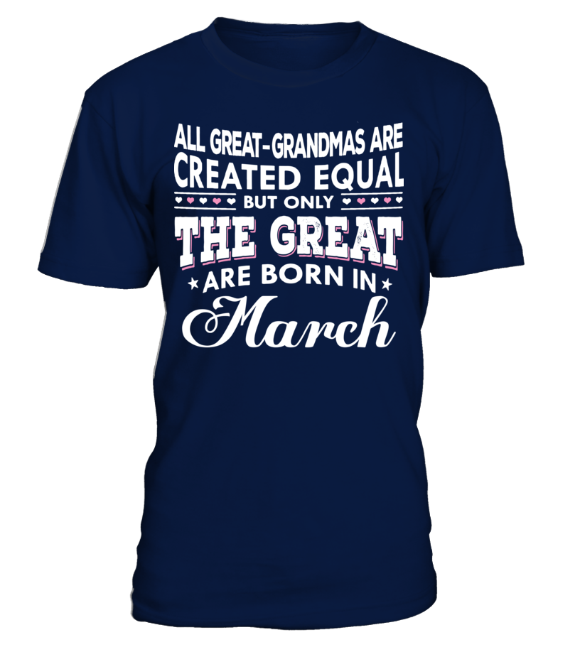Only The Great Are Born in March