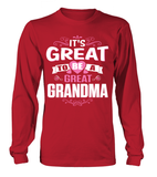 GREAT TO BE A GREAT-GRANDMA