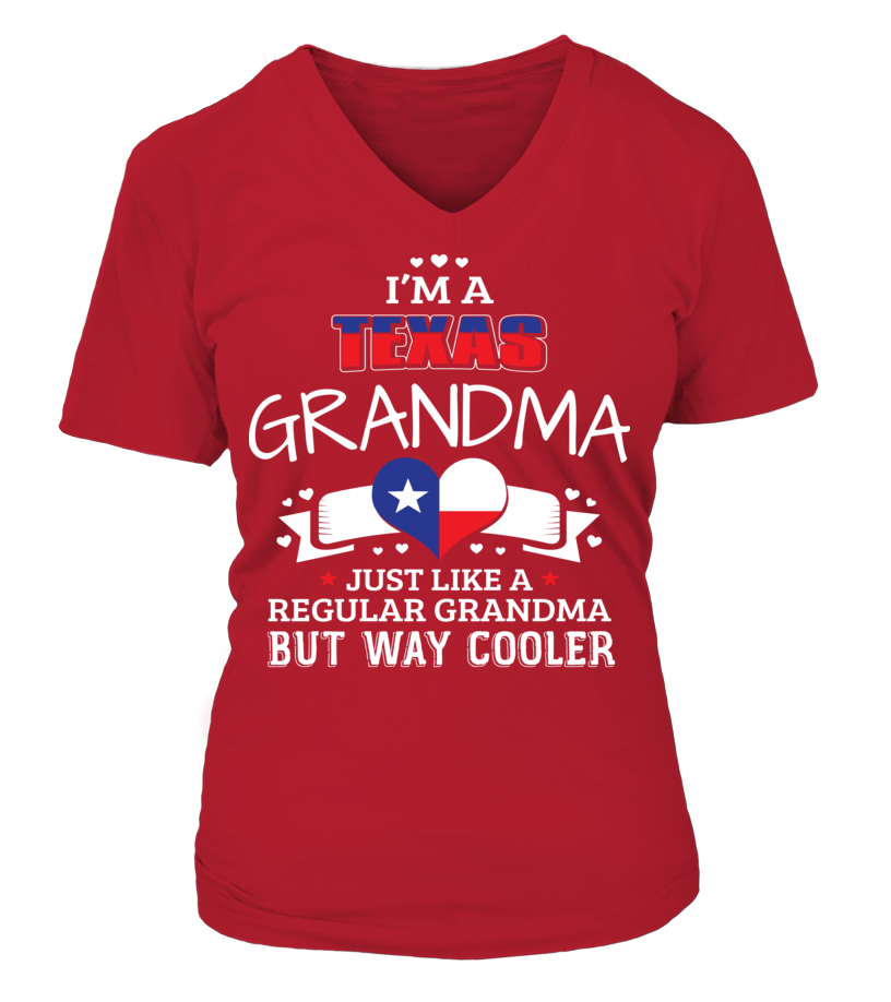 TEXAS GRANDMA TEES & V-NECKS
