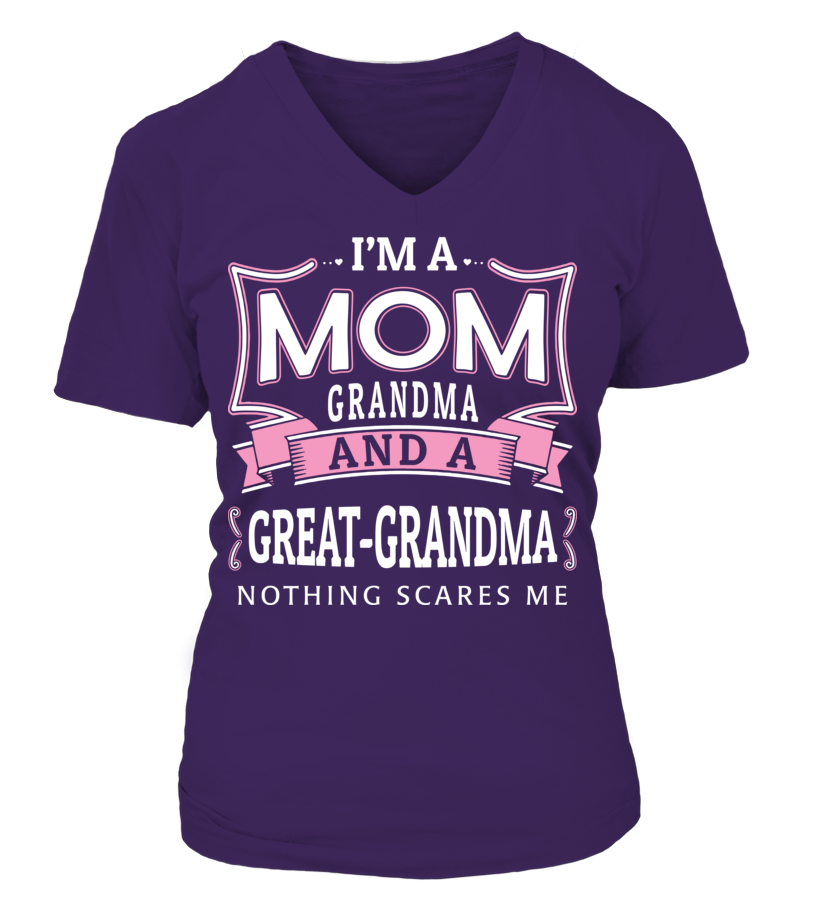 I'M A GREAT-GRANDMA
