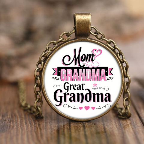 GREAT-GRANDMA SPECIAL NECKLACE