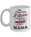 GREAT NANA COFFEE MUGS
