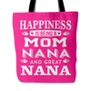 GREAT NANA SPECIAL TOTE BAGS