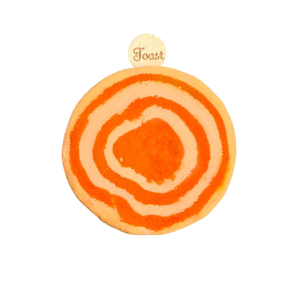 Orange Mmmimosa scented Bubble Bar from KALEIDOSOAPS