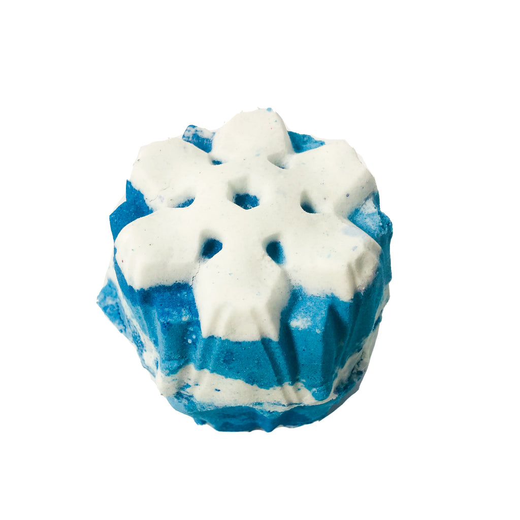 Let It Snow Bath Bomb KALEIDOSOAPS