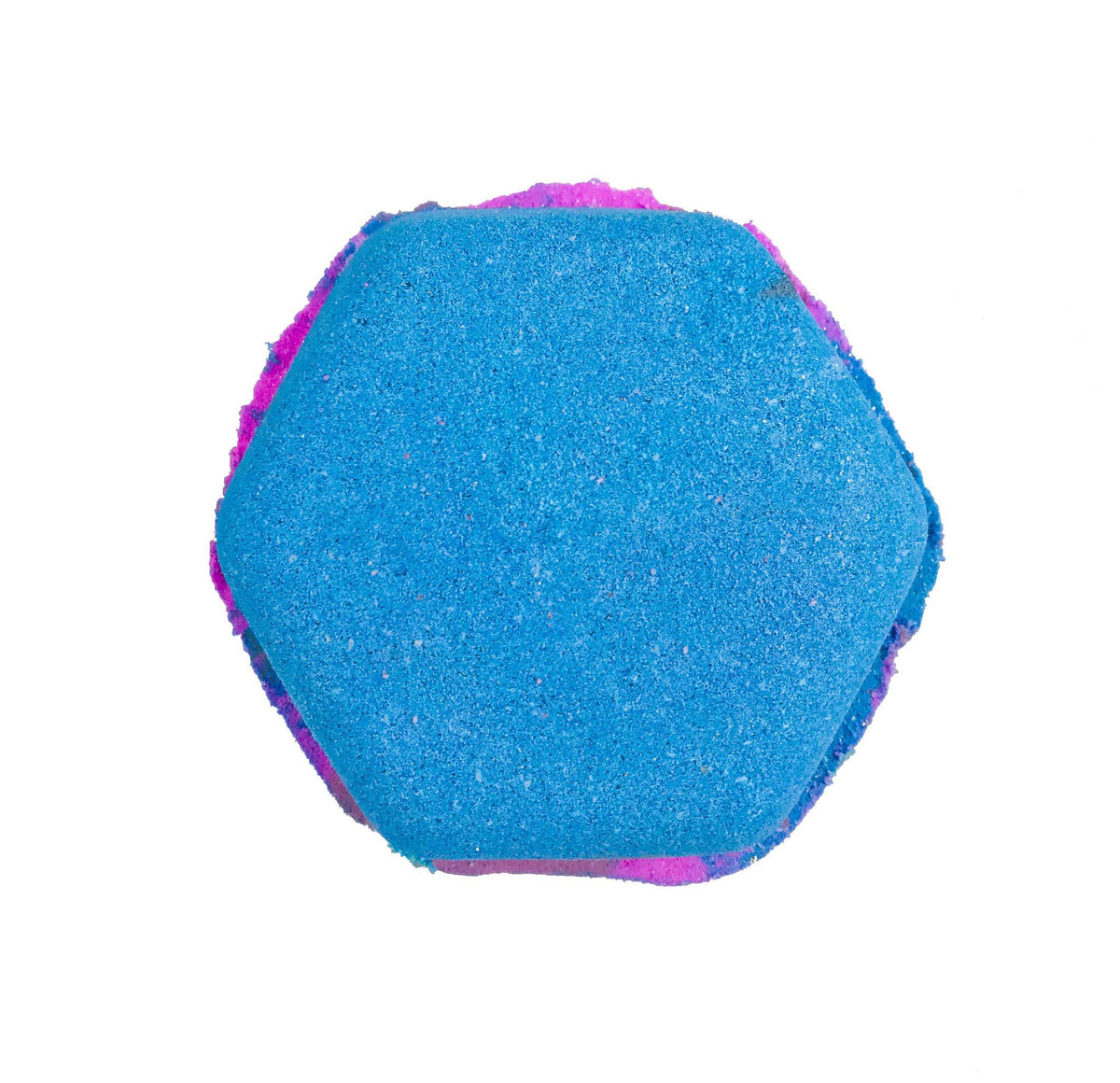 Beautiful Blue Bath Bomb from KALEIDOSOAPS Called Atlas