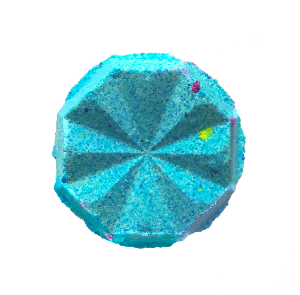 Blue Universe Bath Bomb from KALEIDOSOAPS