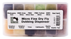 Micro Fine Dry Fly Dubbing Dispenser - East Rosebud Fly & Tackle