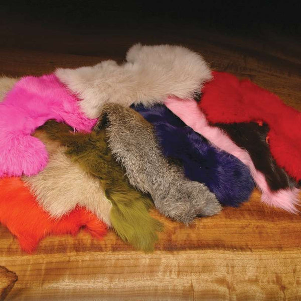Rabbit Hide Pieces Variety Pack - East Rosebud Fly & Tackle