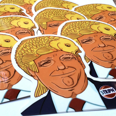 Stripn' Flywear Donald Trump Sticker