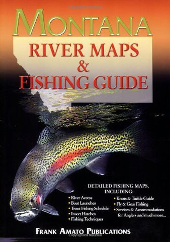 Montana River Maps & Fishing Guide - East Rosebud Fly & Tackle