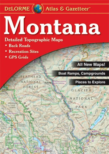 Atlas & Gazetteer - Montana - East Rosebud Fly & Tackle - Free Shipping, No Sales Tax