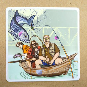 Deadbeats Sticker - East Rosebud Fly & Tackle