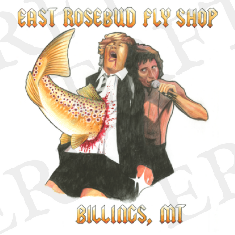 Angus 2.0 Sticker* - East Rosebud Fly & Tackle - Free Shipping, No Sales Tax