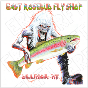East Rosebud Fly and Tackle Eddie 8.0 Sticker