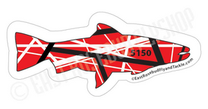 5150 Trout Sticker