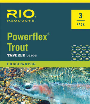 Rio Powerflex Trout Leaders (3 Pack) - East Rosebud Fly & Tackle