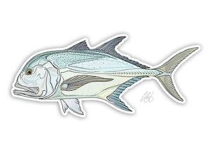 Giant Trevally Decal