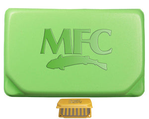Montana Fly Company Flyweight Fly Box Chartreuse - East Rosebud Fly and Tackle
