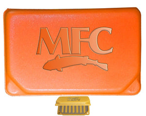 Montana Fly Company Flyweight Fly Box Hot Orange - East Rosebud Fly and Tackle