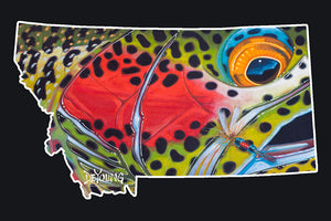 DeYoung Montana Rainbow Royal - East Rosebud Fly and Tackle