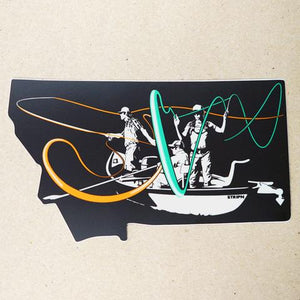 Montana Drift Sticker - East Rosebud Fly & Tackle