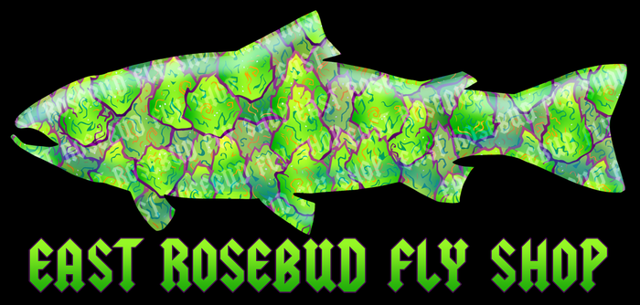 East Rosebud 420 Trout Sticker