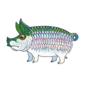 Pig Tarpon Decal - East Rosebud Fly & Tackle