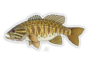 Smallmouth Bass Decal