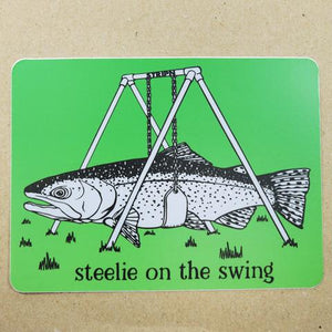 Steelie Swing Sticker