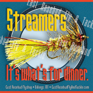 Streamers For Dinner Sticker