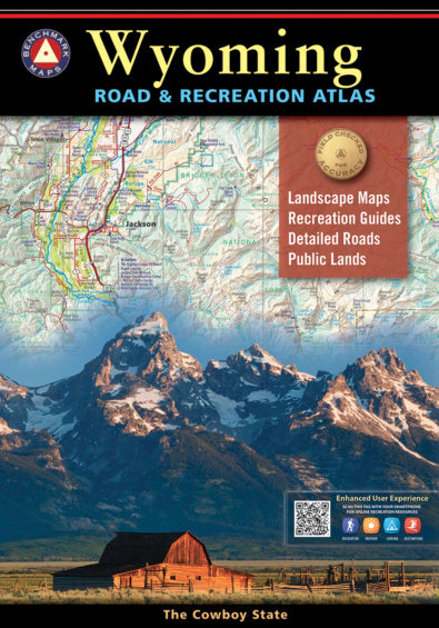 Road & Recreation Atlas - Wyoming - East Rosebud Fly & Tackle